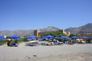 Spiaggia Castello Frangocastello