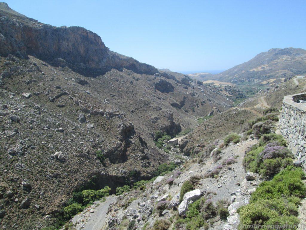 Gola Kourtaliotiko nella parte Sud-Ovest di Creta