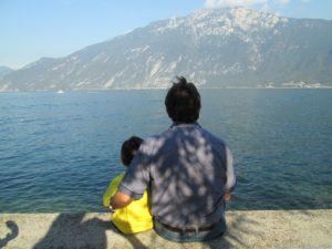 Limone vista lago