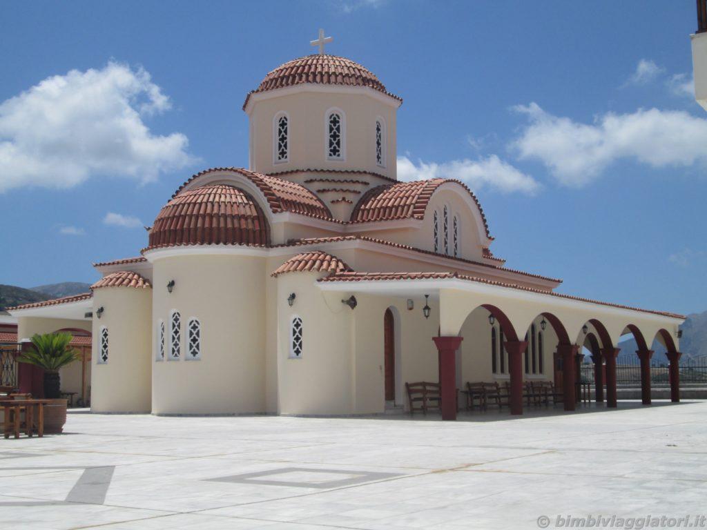 Monastero Spili nella parte Sud-Ovest di Creta