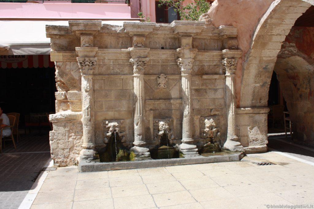 Rethymno fontana Rimondi