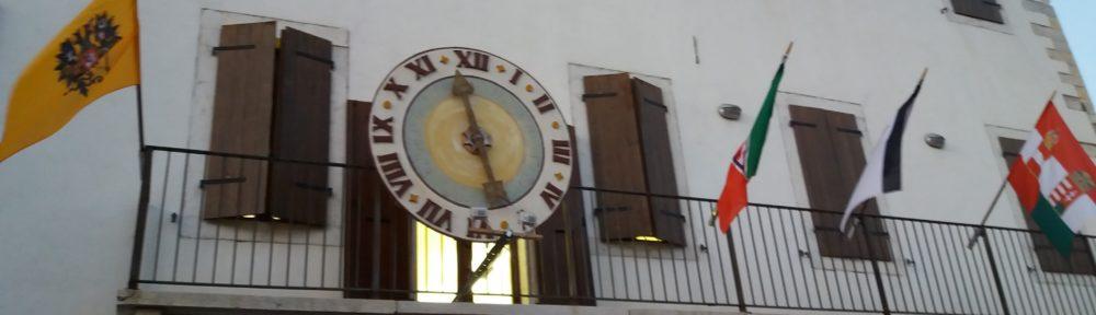 Ganzega orologio del tempo