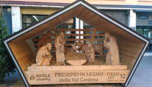 Presepe in legno Rovereto