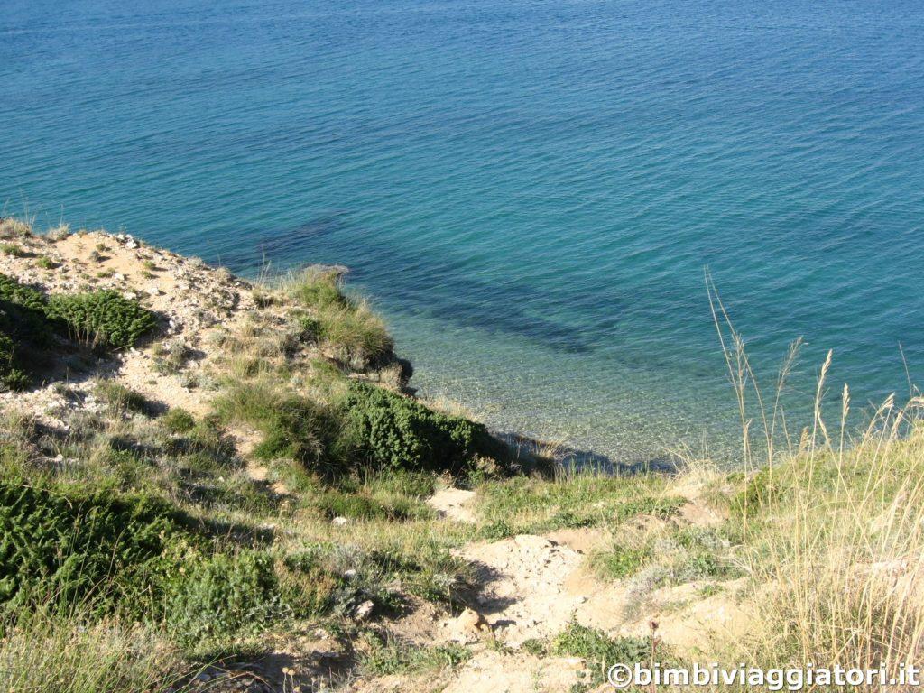 Sentiero spiaggia Bosana