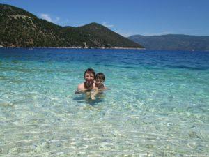 Spiaggia Antisamos