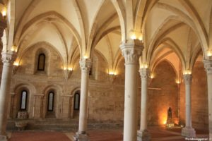Monastero Alcobaca refettorio