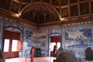 Palacio de Sintra sala interna