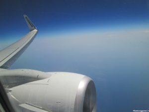 Aereo in volo