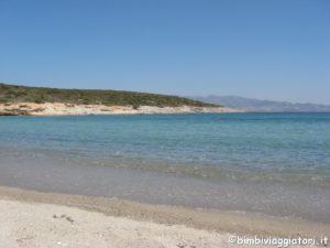 Antiparos spiaggia