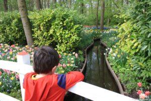 Bambini fiori Olanda