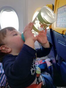 Biberon al decollo