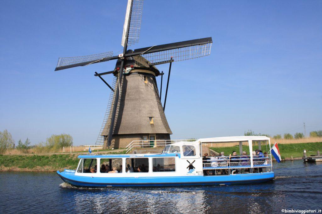Navigazione a Kinderdijk