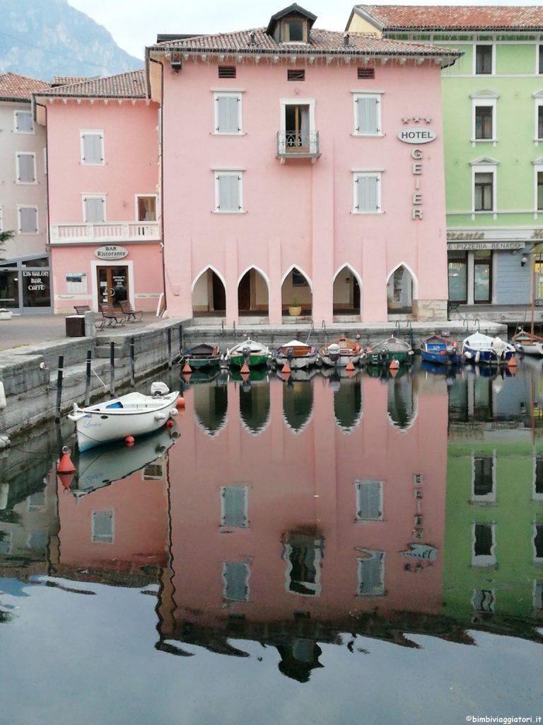 Casette porto Torbole