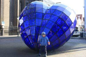 Cuore blu a Delft
