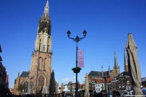 Piazza Markt a Delft