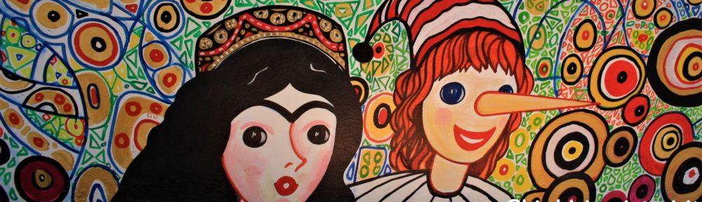 Pinocchio murales