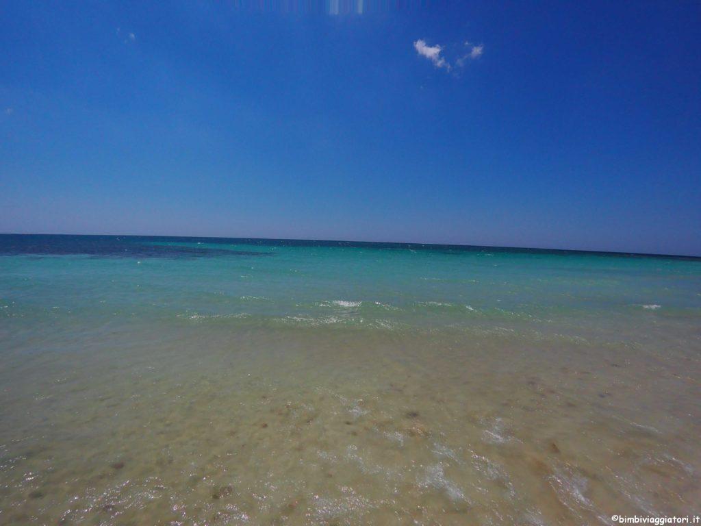 Mare in Puglia: spiagge per bambini in Salento