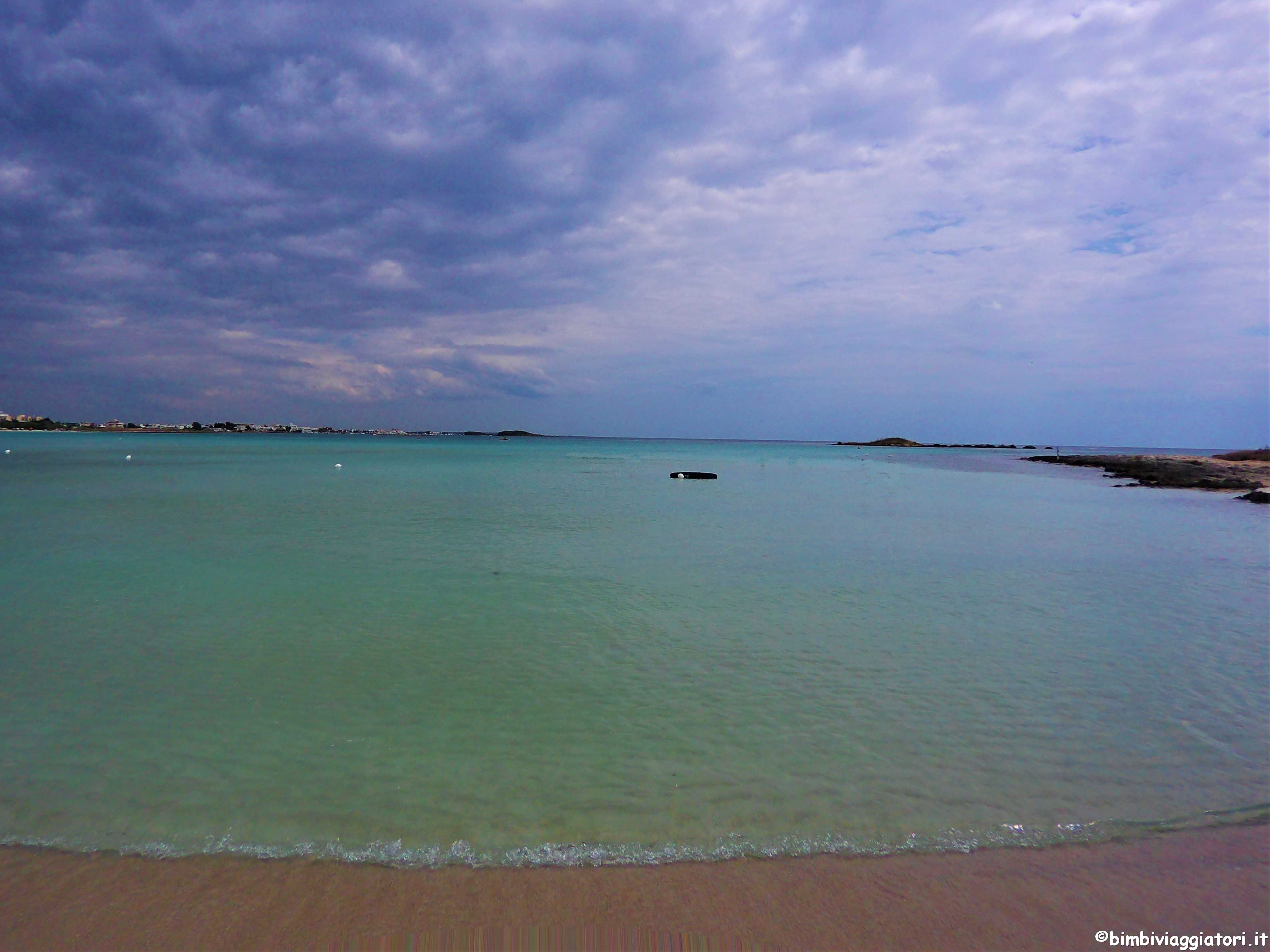 Spiagge per bambini in Salento