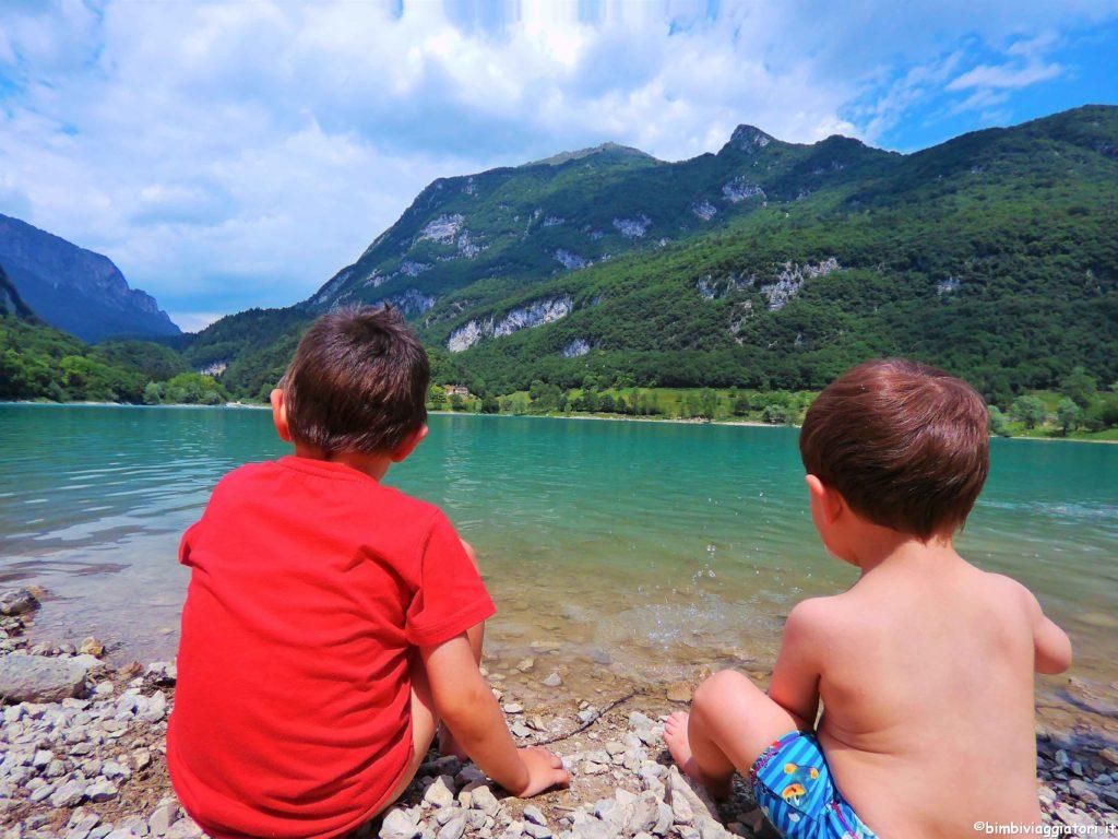 Lago di Tenno con i bambini