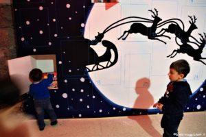 Calendario Avvento casa di Babbo Natale