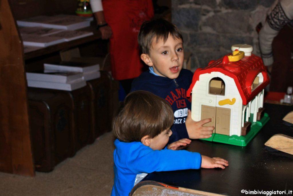 Giochi alla casa di Babbo Natale
