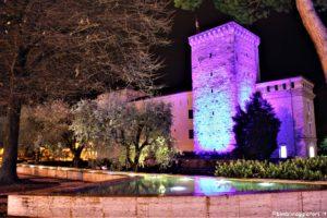 La Rocca di notte