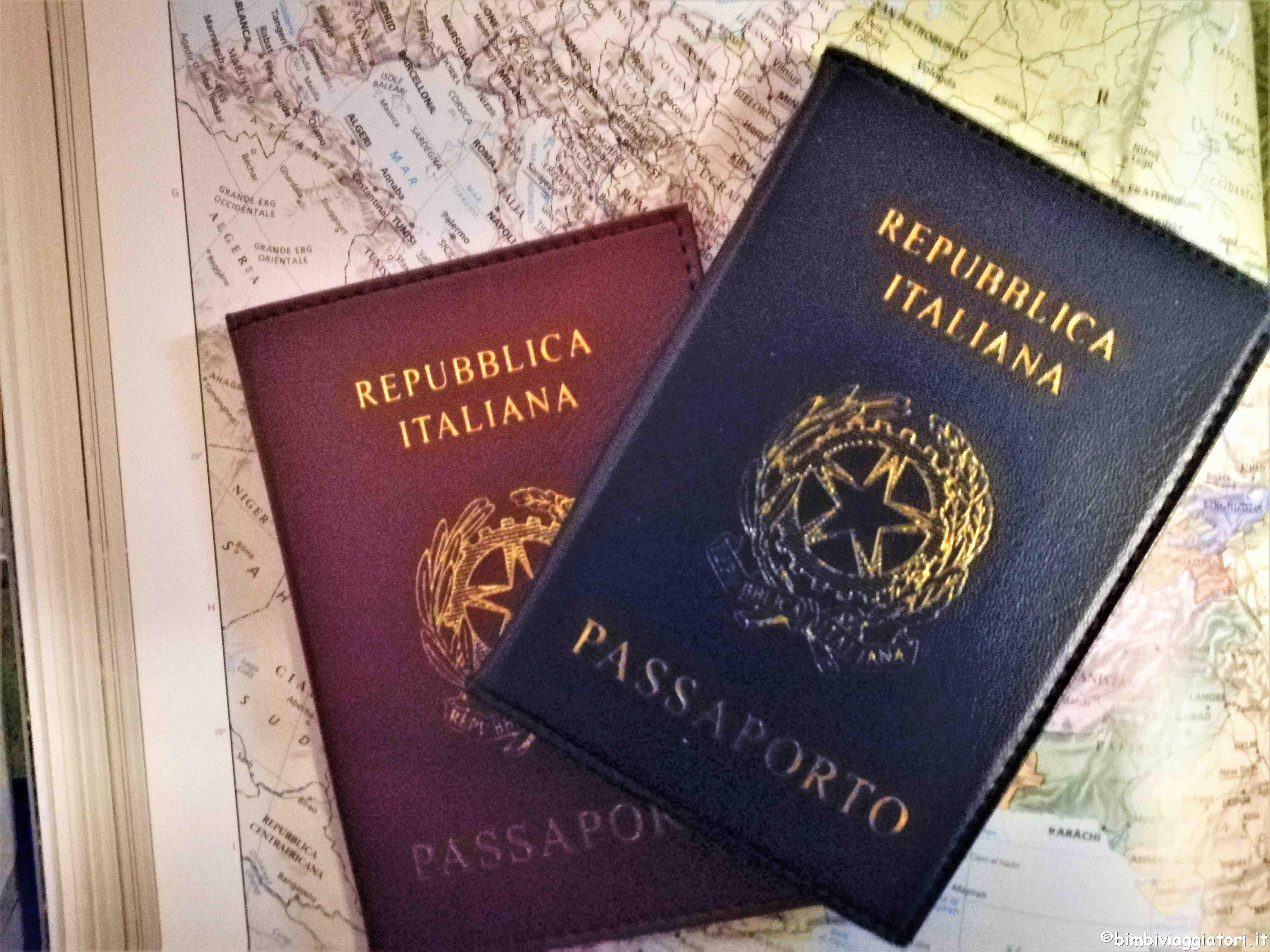 Passaporto per i bambini
