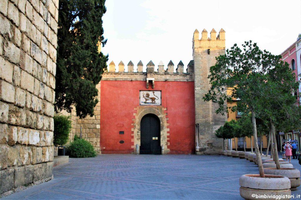 Real Alcazar di Siviglia