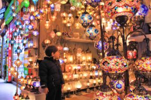 Grand Bazaar lampade