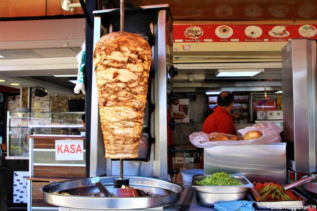 kebab a Istanbul