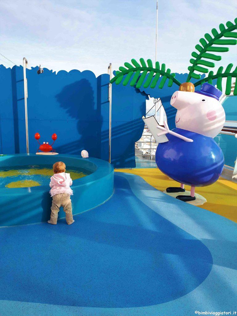 Peppa Pig in crociera con i bambini