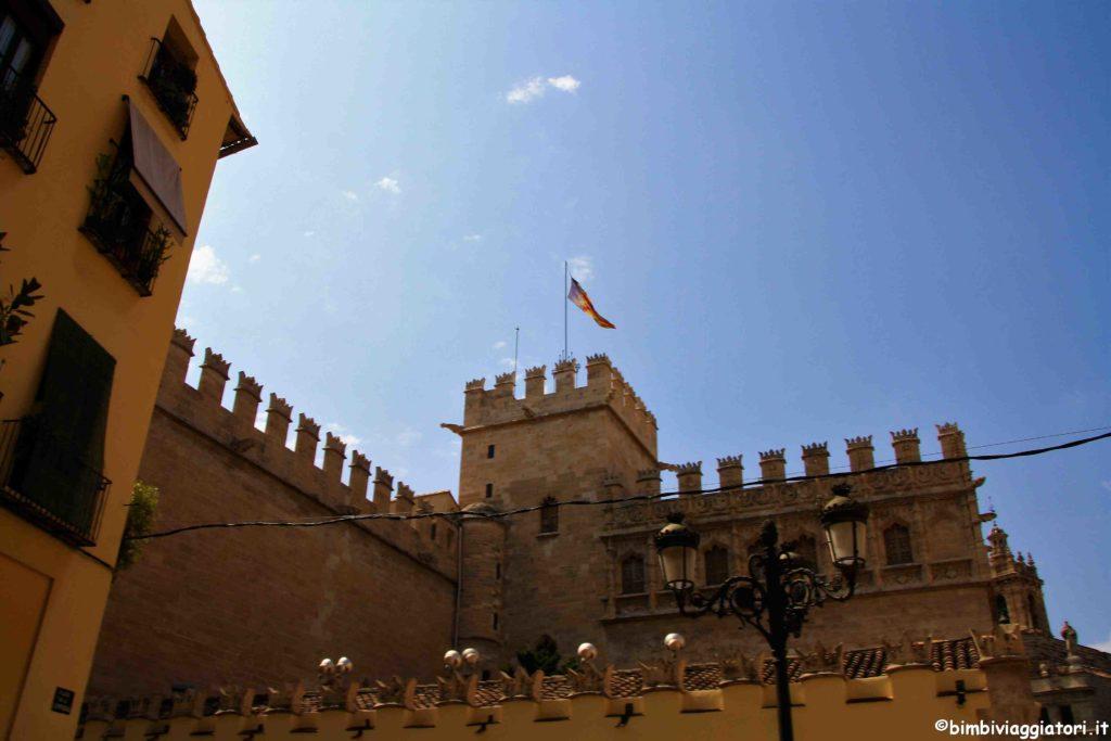 Centro storico di Valencia