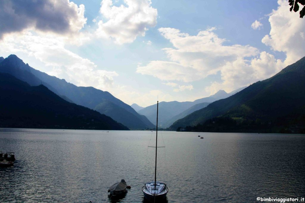 Lago di Ledro barca