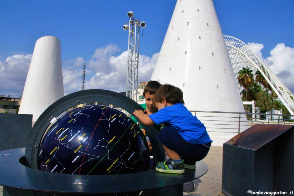 Valencia con i bambini