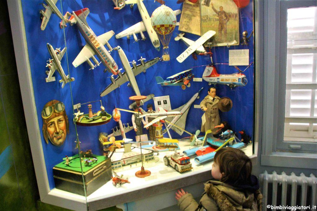 Aviazione al Museo del Giocattolo