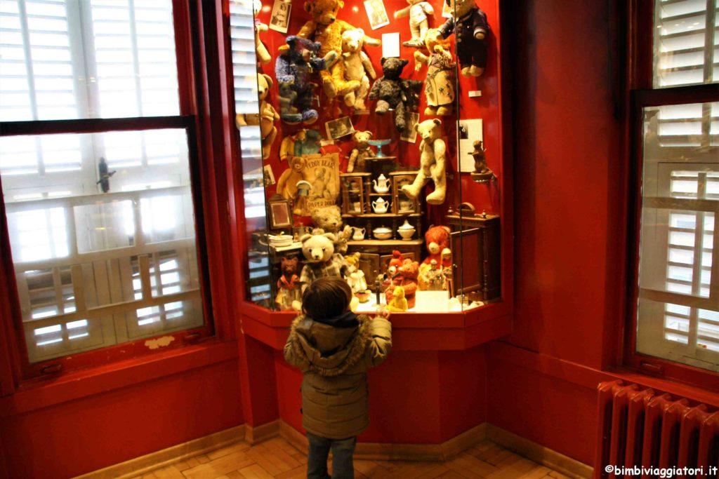 Orsetti al Museo del Giocattolo di Istanbul