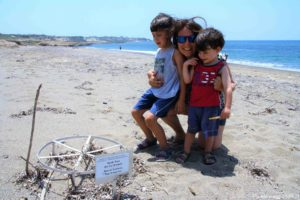 Lara beach a Cipro con i bambini