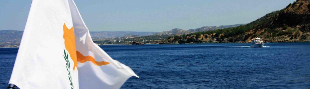 In barca nel mare di Cipro