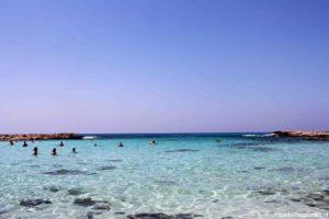 Spiagge per bambini a Cipro: Nissi Beach