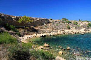 Spiaggia a Cipro