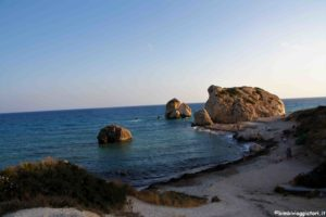 Spiaggia Petra Tou Romiou a Cipro