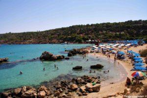 Spiaggia di Konnos a Cipro