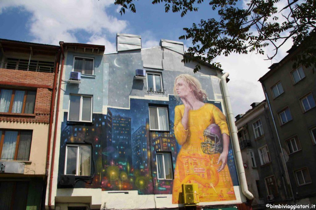 Murales a Sofia