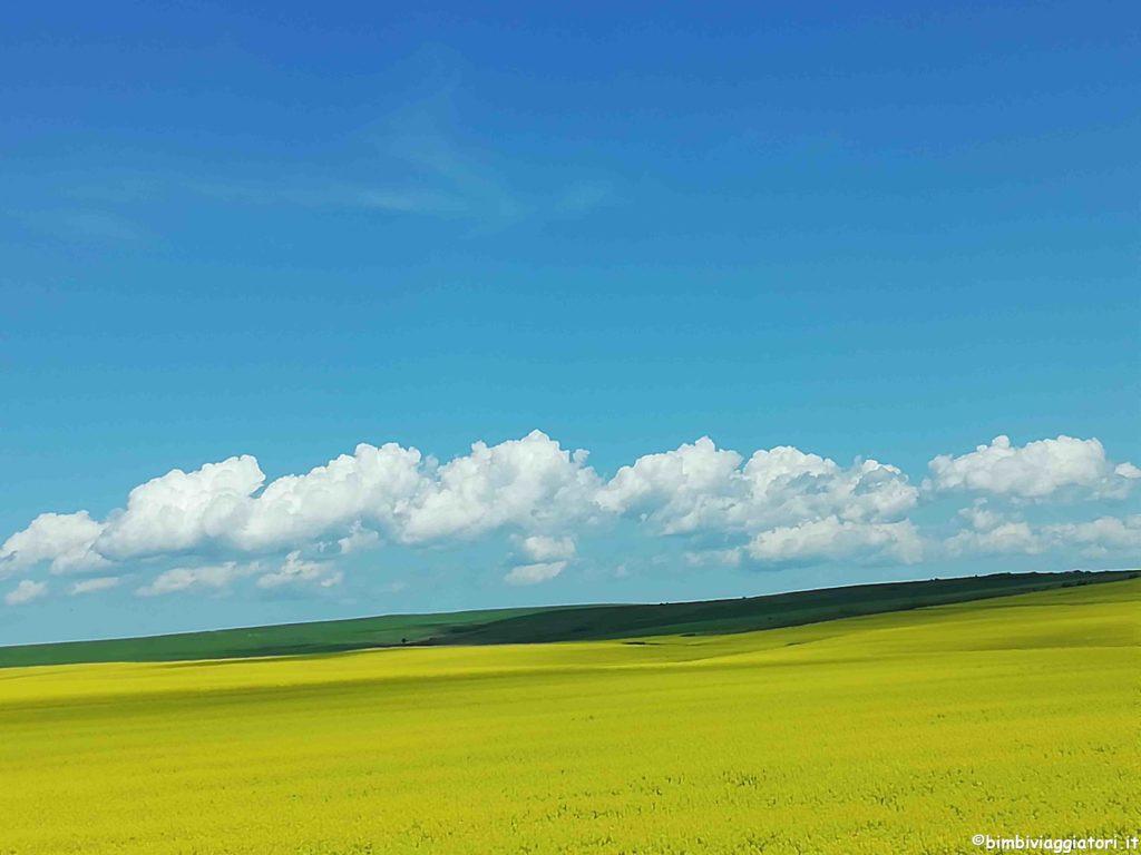 Paesaggi in Bulgaria