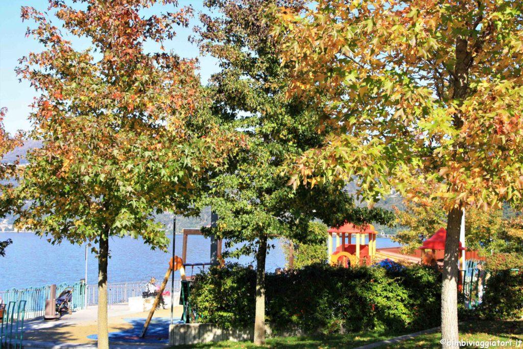Parco giochi a Luino