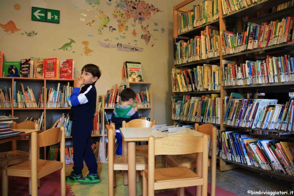 Villa Hussy biblioteca