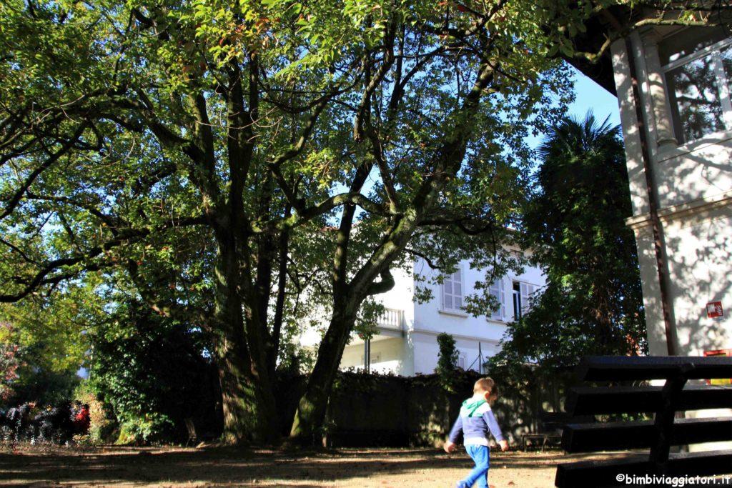 Villa Hussy giardino