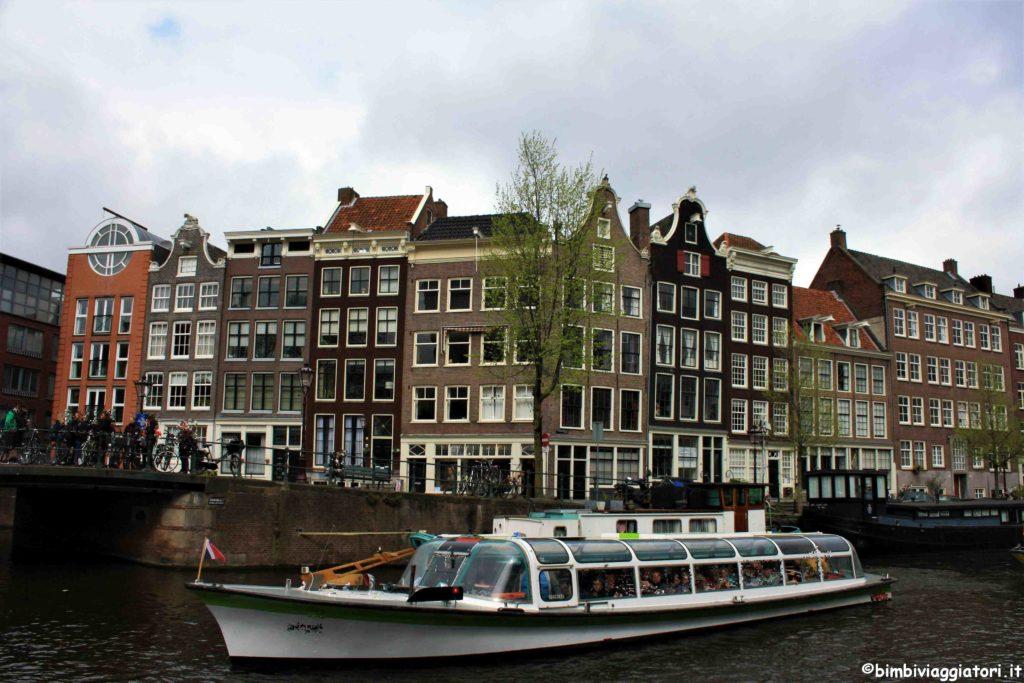 Gita sui canali Amsterdam