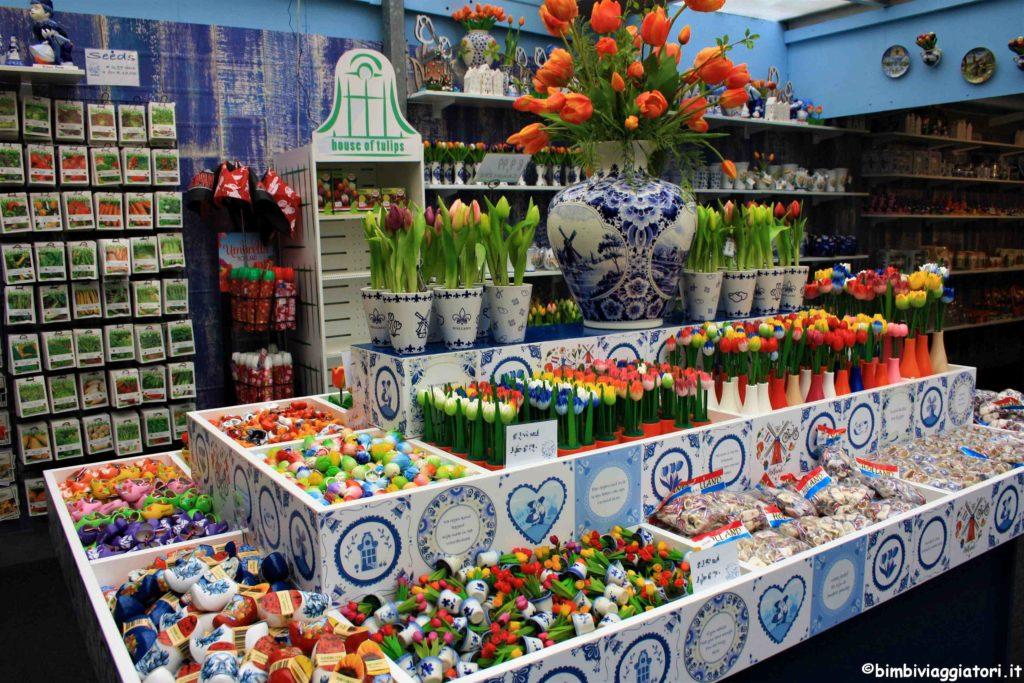 Mercato dei fiori a Amsterdam