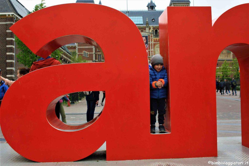 """Scritta """"I Amsterdam"""""""